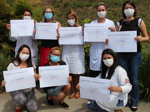 Dia Nacional da Humanização é celebrado no hospital