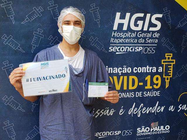 HGIS inicia campanha de vacinação contra COVID-19
